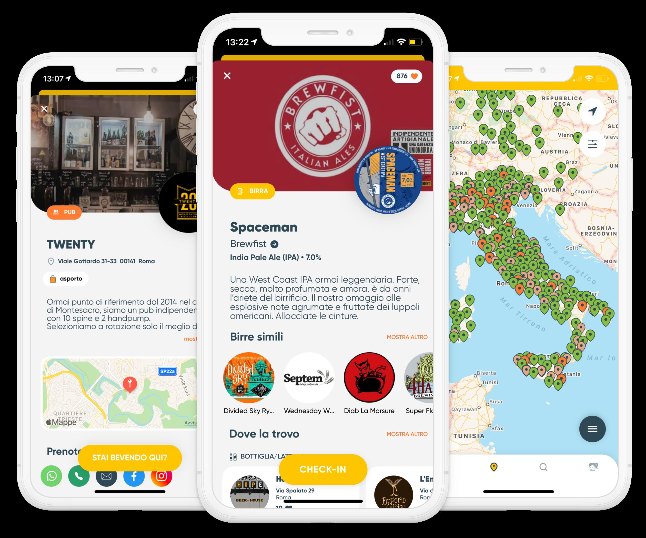 Tutto il mondo della birra in un'app